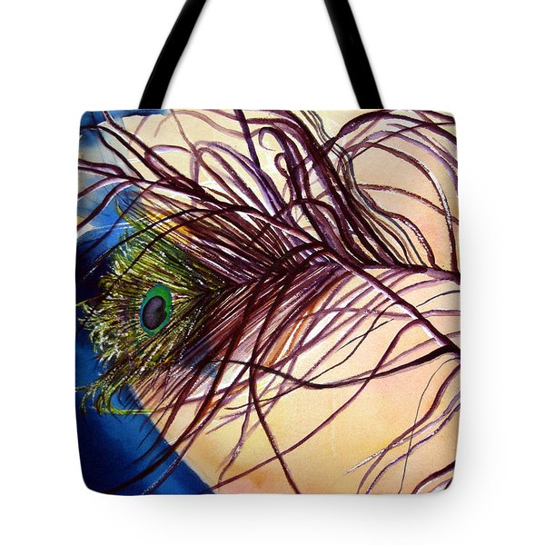 Preening For Attention Sold Tote Bag