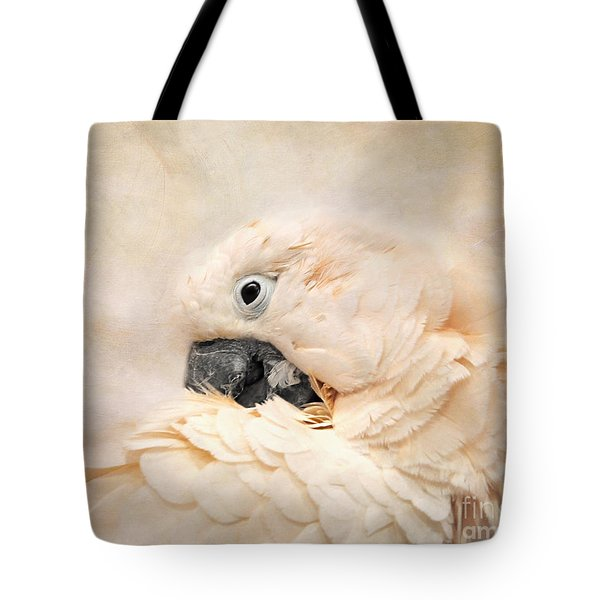Preening Tote Bag by Jai Johnson