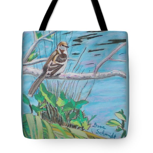 Pregnant Mockingbird Tote Bag
