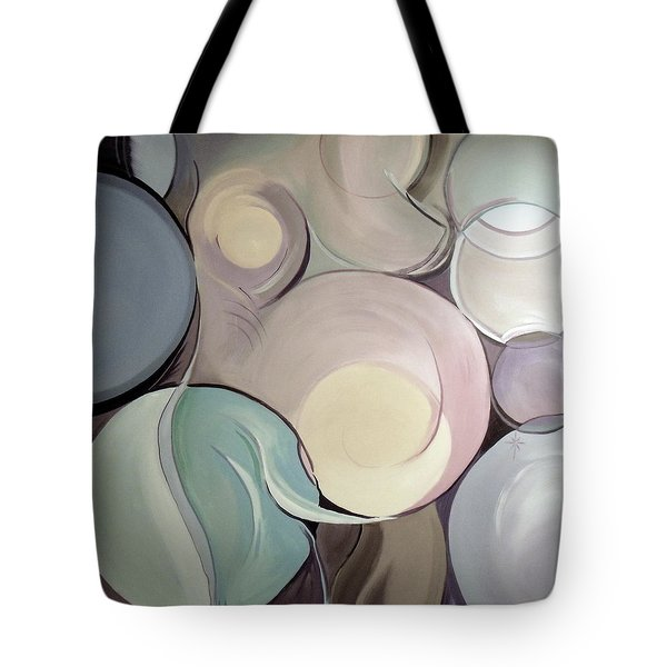 Tote Bag featuring the painting Pregnant Possibilities by Jodie Marie Anne Richardson Traugott          aka jm-ART