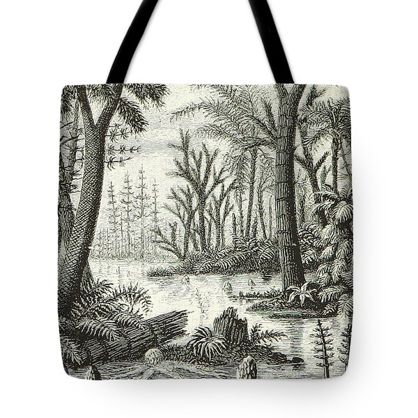 Prehistoric Flora, Carboniferous Tote Bag
