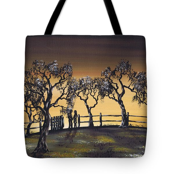 Prelude To A Kiss Tote Bag by Kenneth Clarke