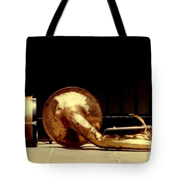 Prelude To New Orleans Jazz Tote Bag by Michael Hoard