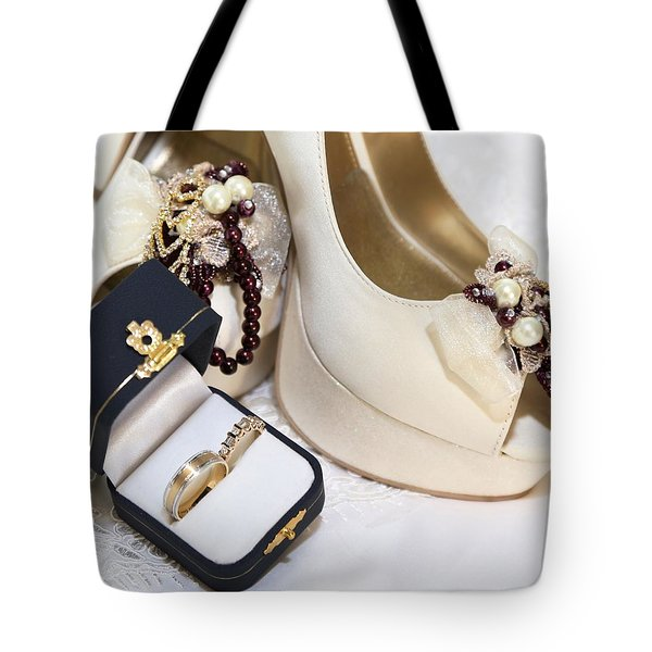 Tote Bag featuring the photograph Prelude To Our Valentine Vows by DigiArt Diaries by Vicky B Fuller