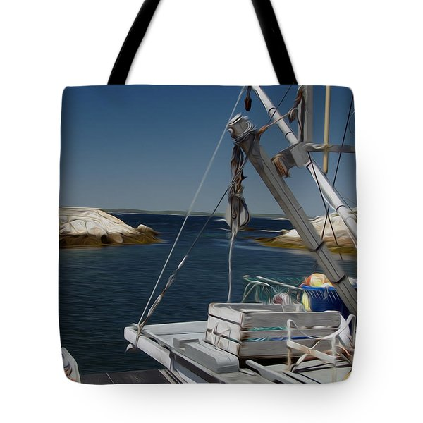 Tote Bag featuring the digital art Prep Work by Kelvin Booker