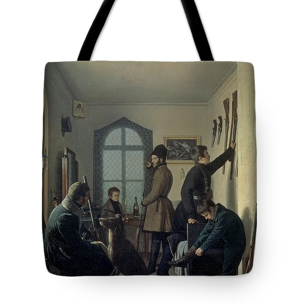 Preparations For Hunting, 1836 Tote Bag