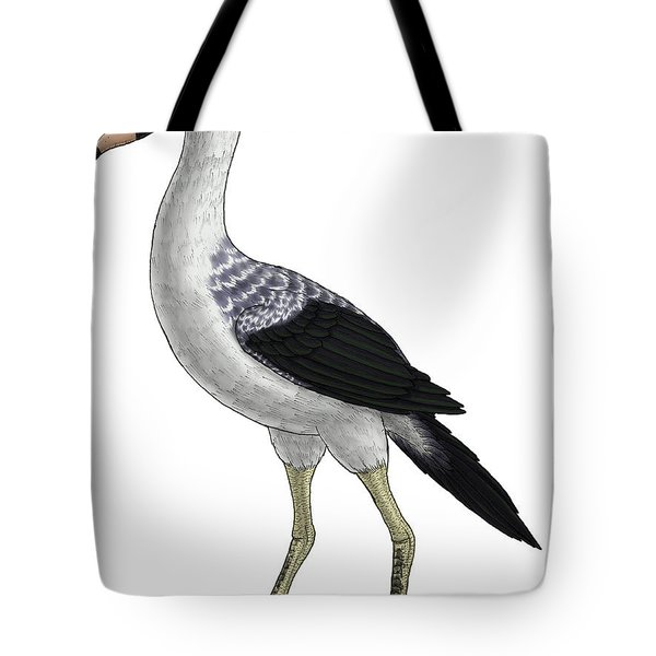 Presbyornis, An Extinct Genus Tote Bag by Vitor Silva