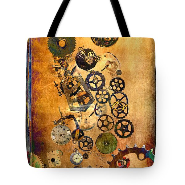 Tote Bag featuring the photograph Present by Fran Riley
