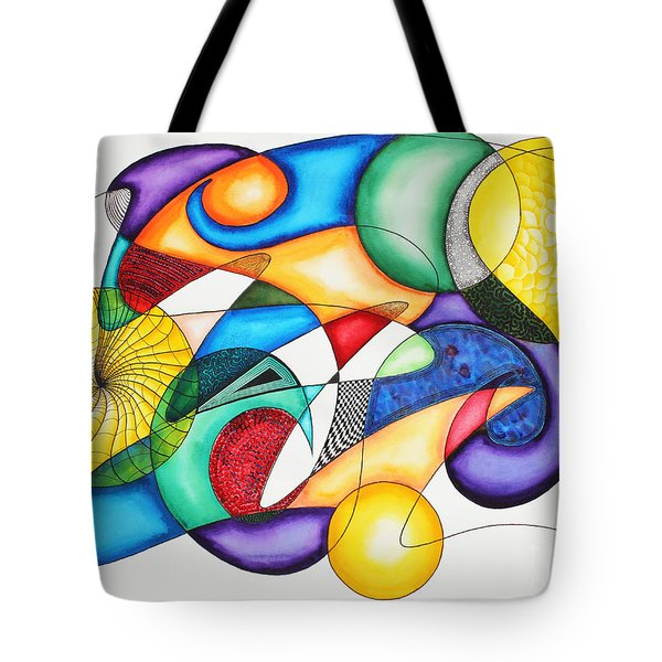 Present Tote Bag by Shannan Peters