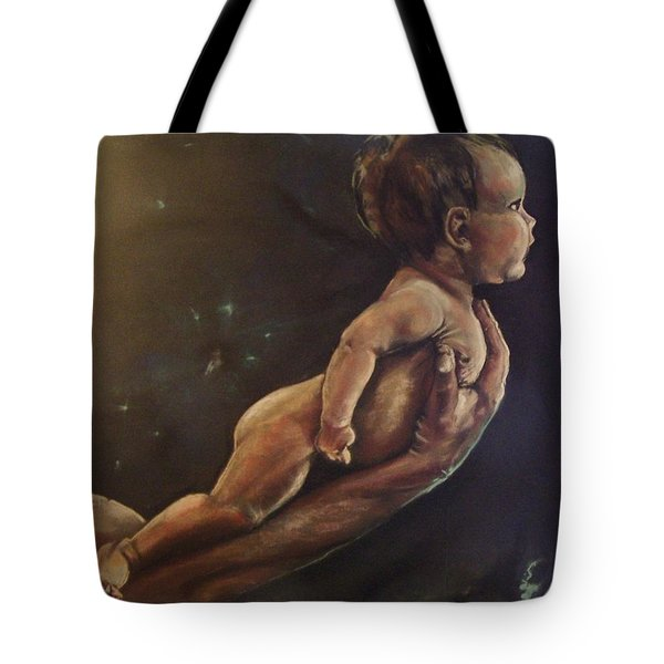 Presenting Life Tote Bag by Peter Suhocke