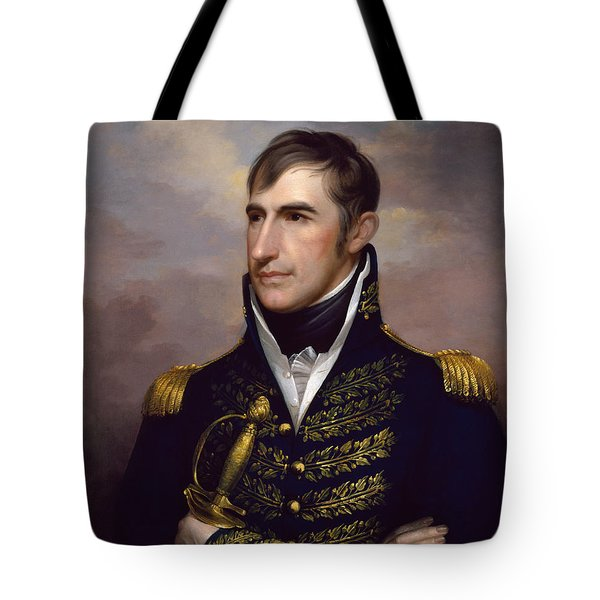President William Henry Harrison Tote Bag by War Is Hell Store