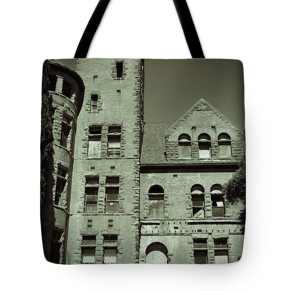 Preston Castle Tower Tote Bag by Holly Blunkall