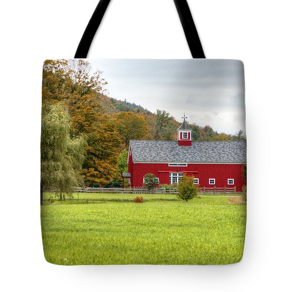 Prettiest Barn In Vermont Tote Bag