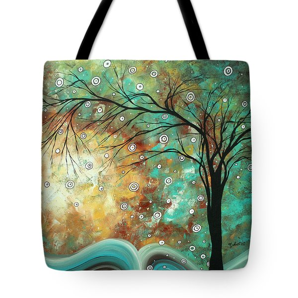 Pretty As A Picture By Madart Tote Bag by Megan Duncanson