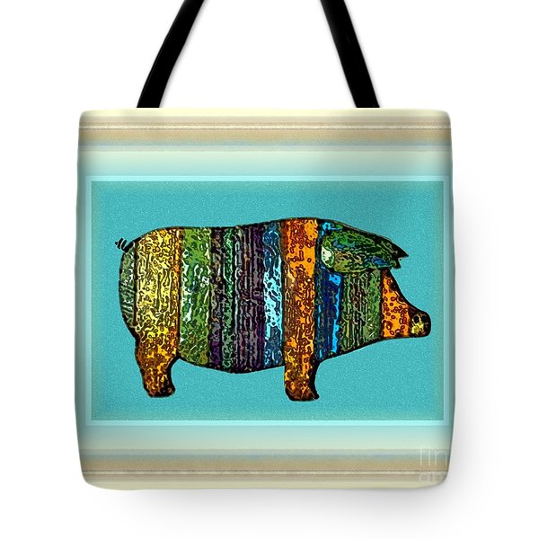Pretty As A Pig-ture Tote Bag
