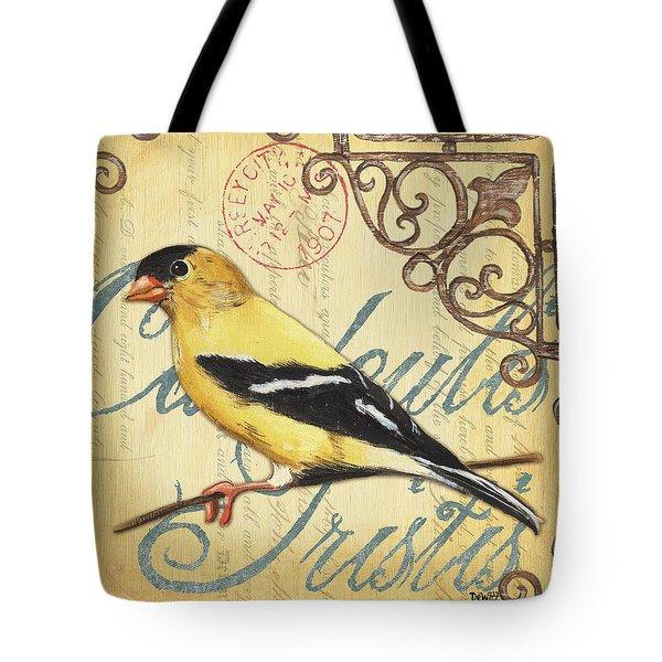 Pretty Bird 3 Tote Bag