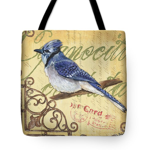 Pretty Bird 4 Tote Bag by Debbie DeWitt