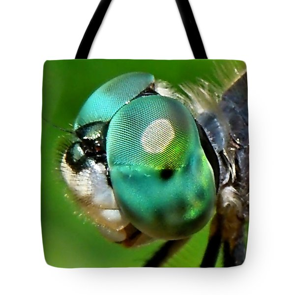 Pretty Eyes Tote Bag by Renee Trenholm