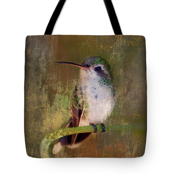 Pretty Hummer Tote Bag