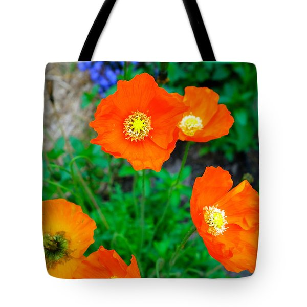 Pretty In Orange Tote Bag by Jacqueline Athmann