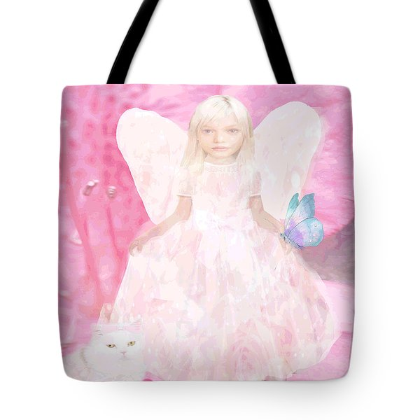 Pretty In Pink Tote Bag by Amelia Carrie
