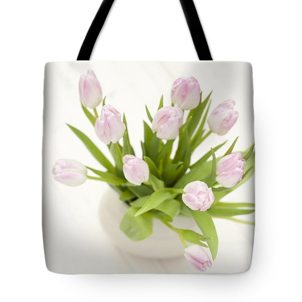 Pretty In Pink Tote Bag by Anne Gilbert