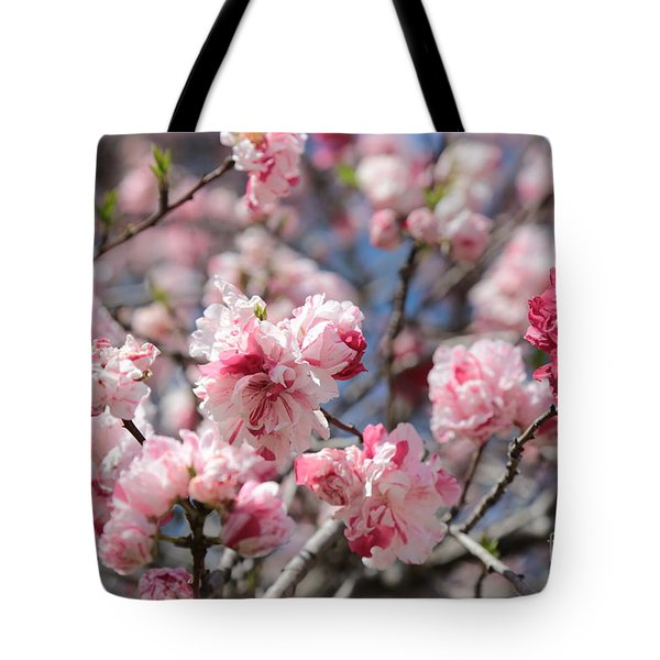 Pretty In Pink Tote Bag by Carol Groenen