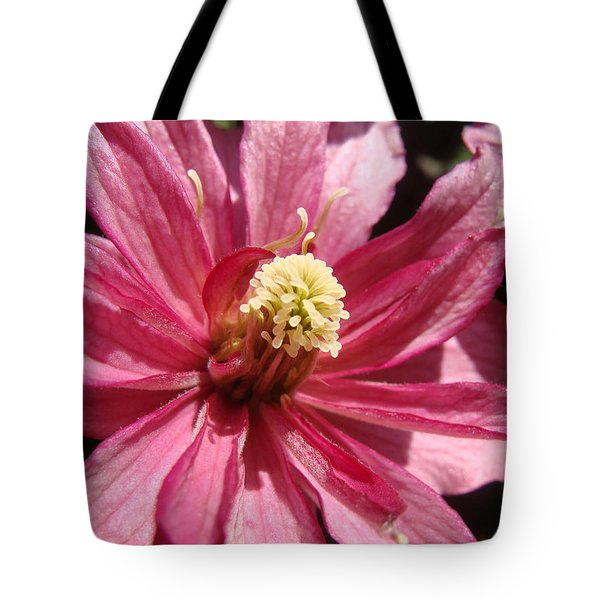 Tote Bag featuring the photograph Pretty In Pink by Cheryl Hoyle