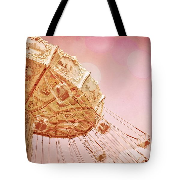 Carnival - Pretty In Pink Tote Bag by Colleen Kammerer