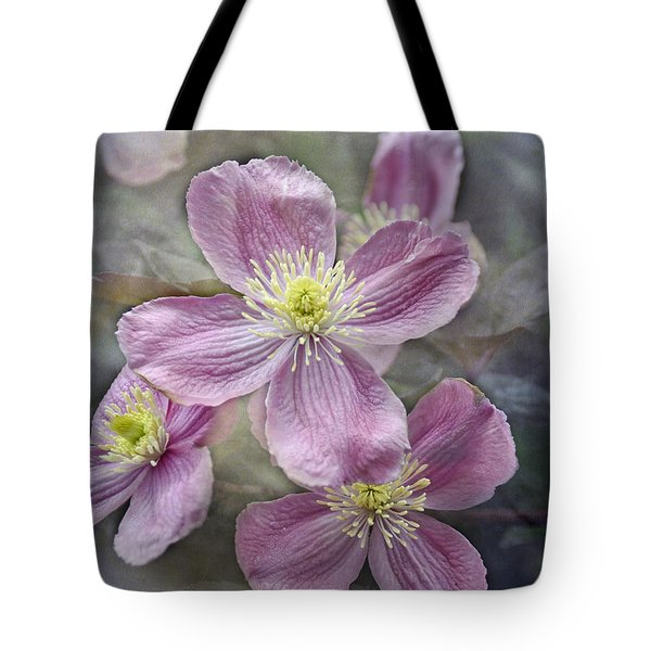 Pretty In Pink Tote Bag by Geraldine Alexander