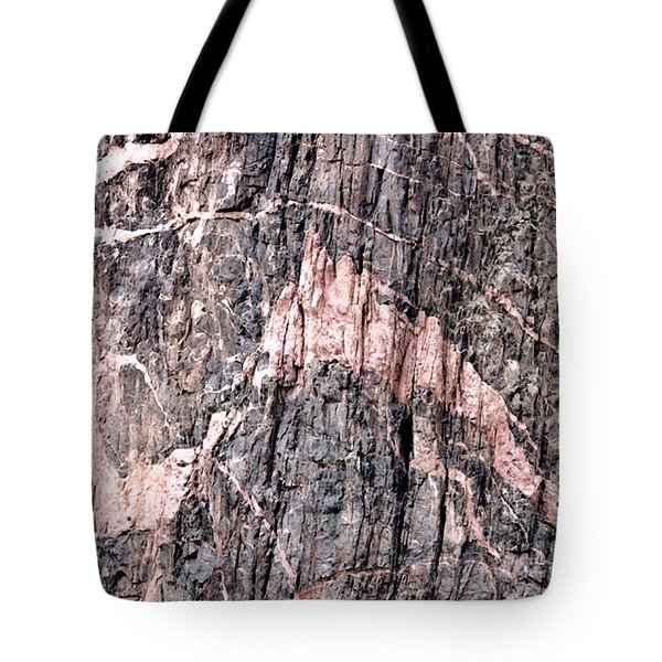 Tote Bag featuring the photograph Pretty In Pink by Mary Bedy