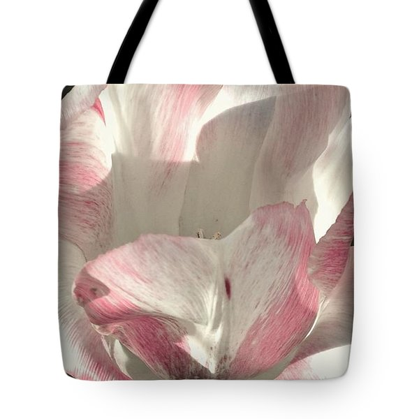 Tote Bag featuring the photograph Pretty In Pink by Photographic Arts And Design Studio