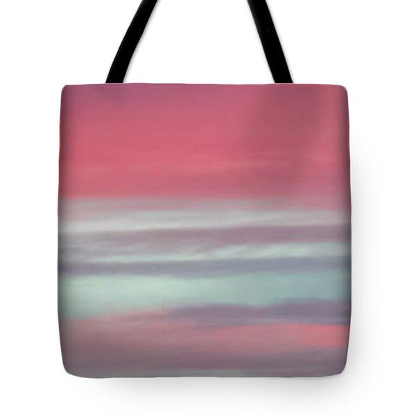 Pretty In Pink Sunrise Tote Bag