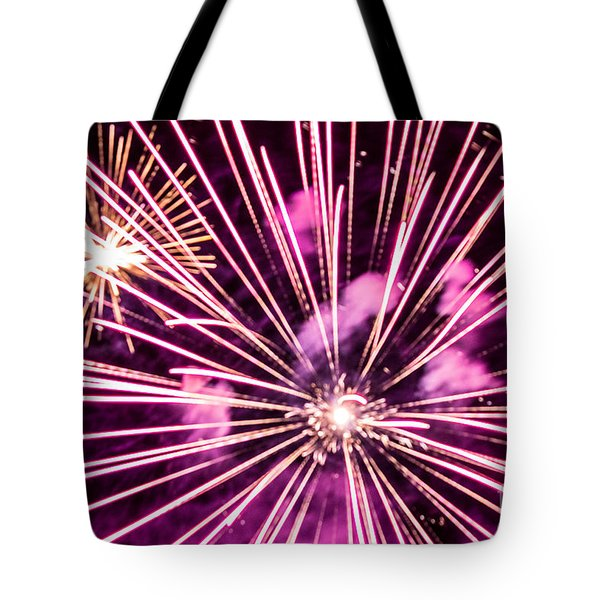 Pretty In Pink Tote Bag by Suzanne Luft