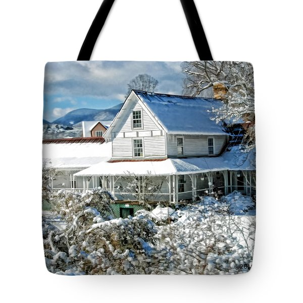 Tote Bag featuring the photograph Pretty In White by Kenny Francis