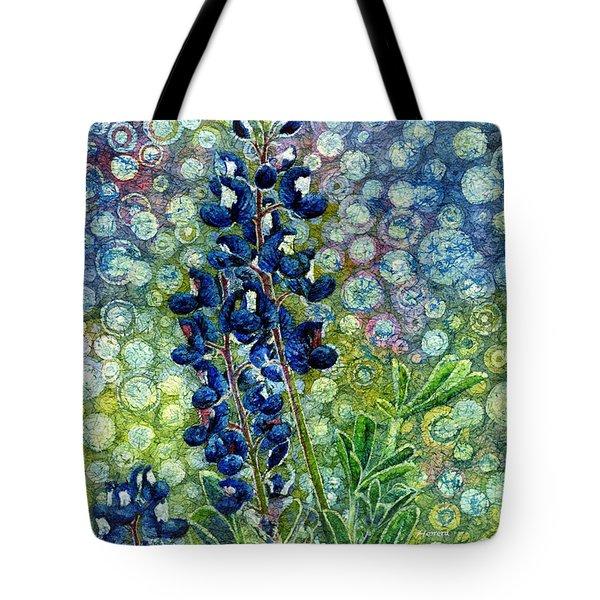 Pretty In Blue Tote Bag