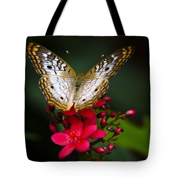 Pretty Little Butterfly  Tote Bag by Saija  Lehtonen