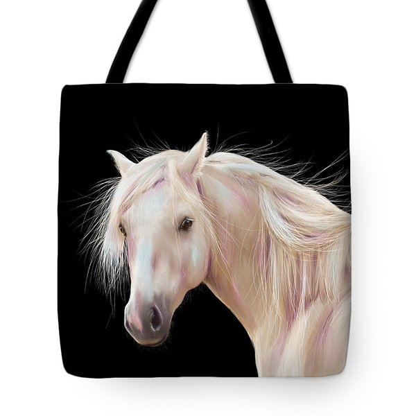 Pretty Palomino Pony Painting Tote Bag