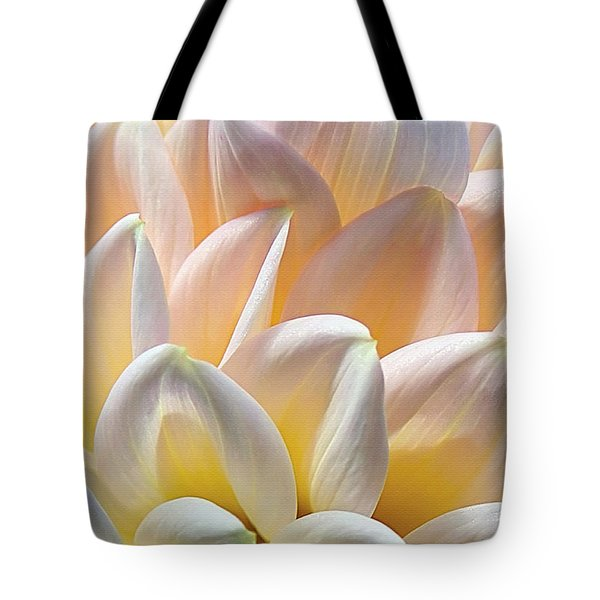 Pretty Pastel Petal Patterns Tote Bag