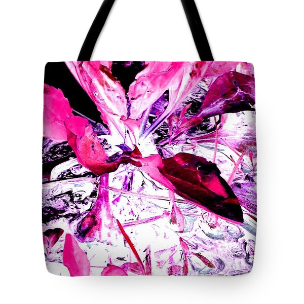 Pretty Pink Weeds 5 Tote Bag