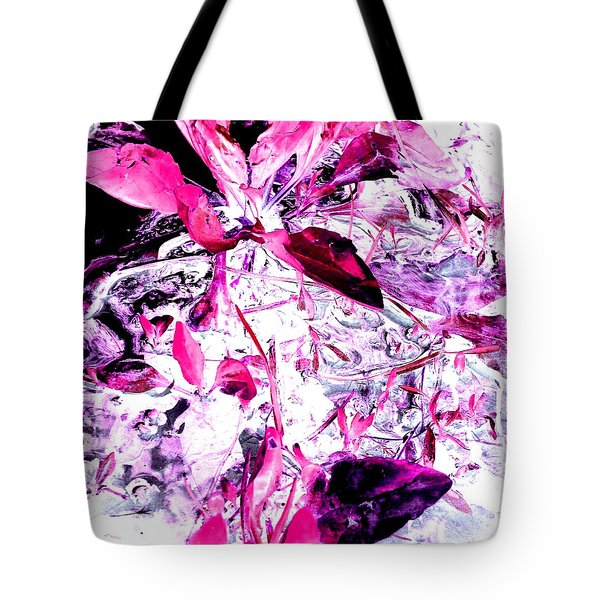 Pretty Pink Weeds 6 Tote Bag