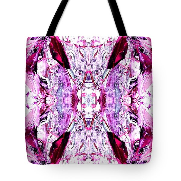 Pretty Pink Weeds Abstract  2 Tote Bag