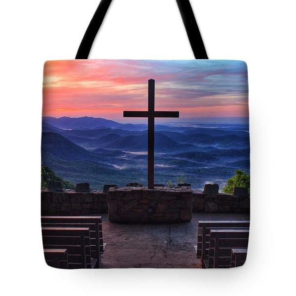 Pretty Place Chapel Sunrise Tote Bag