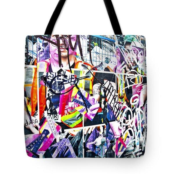 Pretty Random Tote Bag