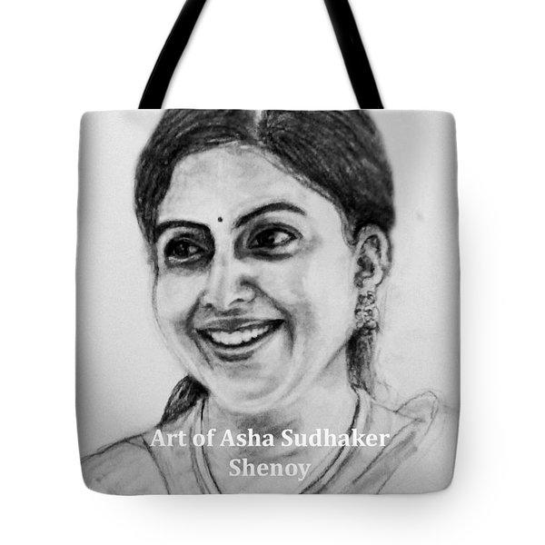 Pretty Smile Tote Bag