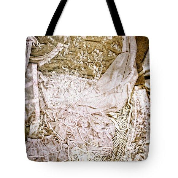 Pretty Things 1 - Lingerie Art By Sharon Cummings Tote Bag