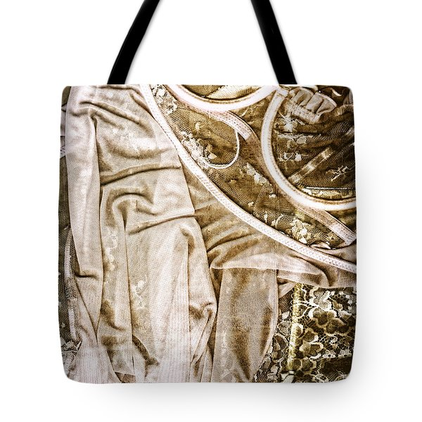 Pretty Things 4 - Lingerie Art By Sharon Cummings Tote Bag