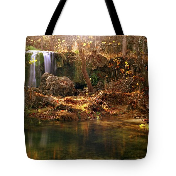 Price Falls 1 Of 5 Tote Bag by Jason Politte