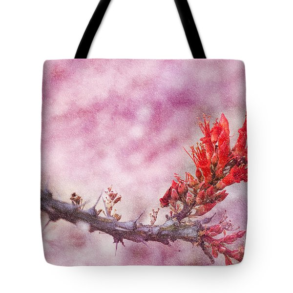 Prickly Beauty Tote Bag by Erika Weber