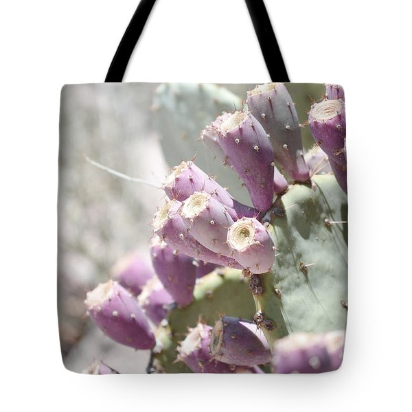 Prickly Pear Cacti Tote Bag by Andrea Hazel Ihlefeld